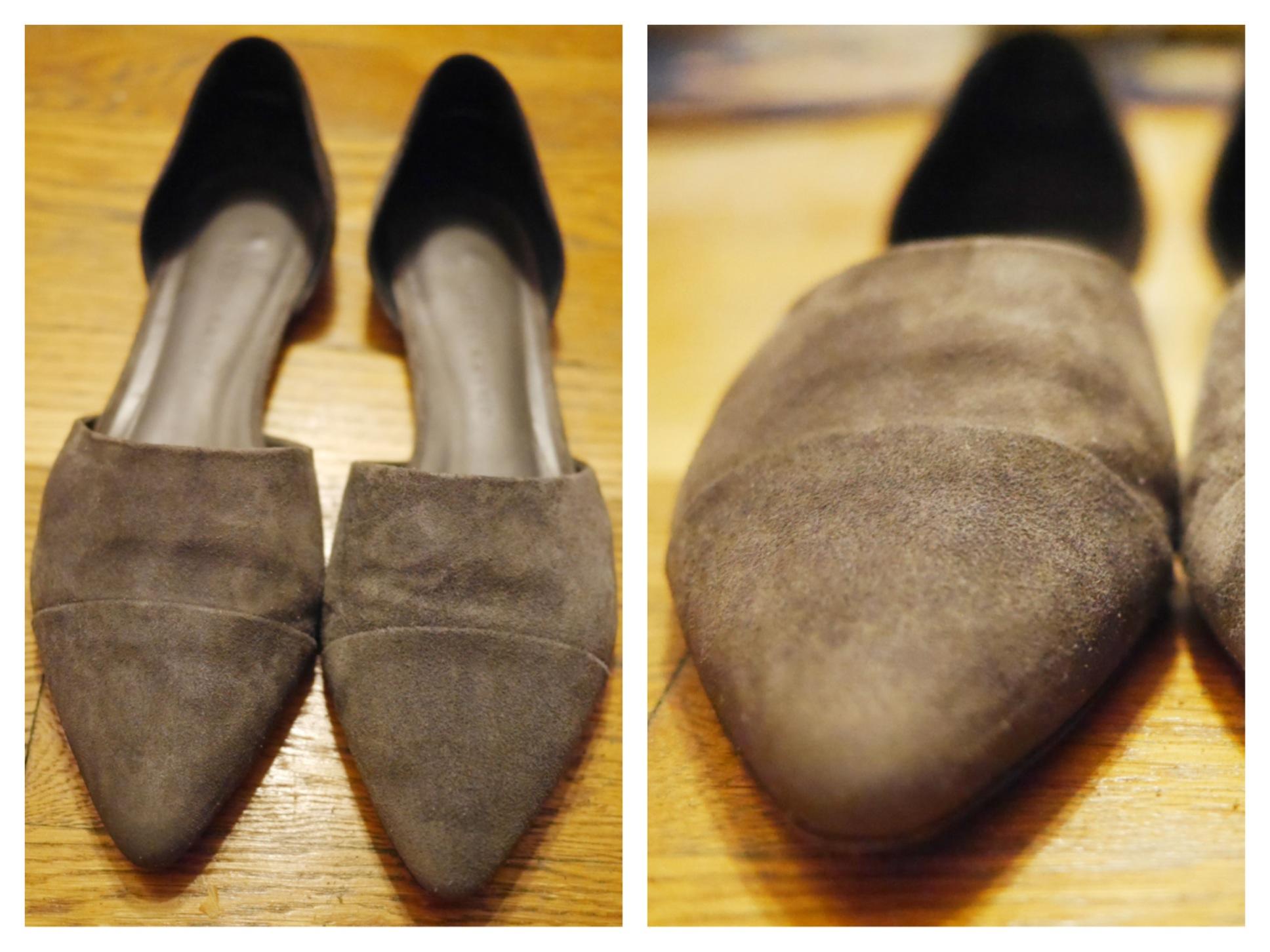 Repair Wet Suede Shoes